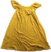 BA&SH Bash Yellow Cotton Dresses