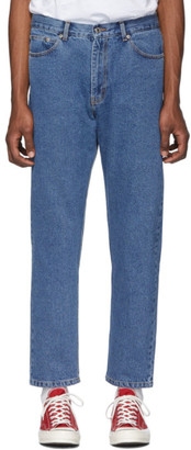 Second/Layer Blue Denim Type 11 Jeans