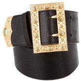 Roberto Cavalli Wide Leather Belt