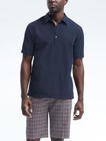 Banana Republic Camden-Fit Short-Sleeve Seersucker Shirt