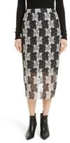 Diane von Furstenberg Women's Lace Midi Skirt