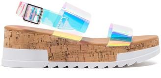 Cape Robbin Sporty Strap Platform Sandal