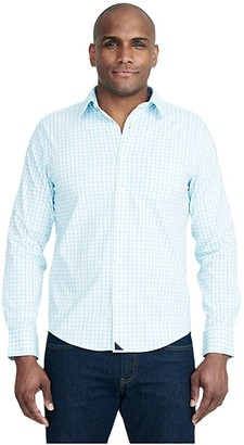 UNTUCKit Montiglet Performance (Teal) Men's Clothing