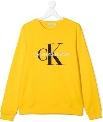 Calvin Klein Kids TEEN logo sweater