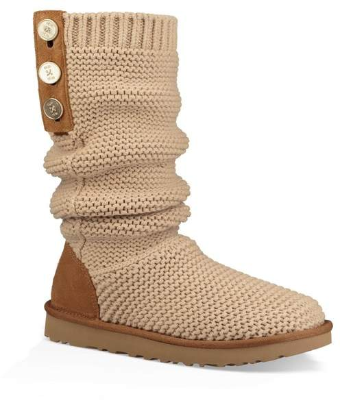 1d7755e7d9d Purl Cardy Knit Boot (Narrow Calf)