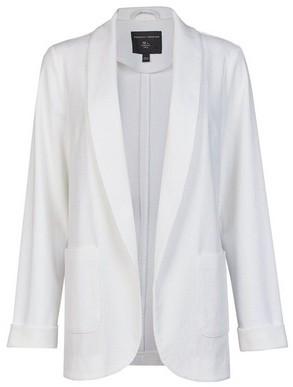 Dorothy Perkins Womens Ivory Textured Jacket