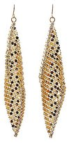 Charlotte Russe Embellished Chainmail Drop Earrings