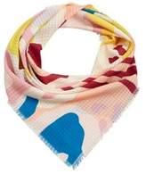 Violeta BY MANGO Mixed print scarf