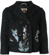 I'M Isola Marras patch detail cropped jacket