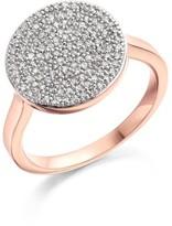 Monica Vinader Women's 'Ava' Diamond Disc Ring