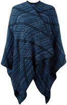Missoni woven cape - women - Polyamide/Wool - One Size