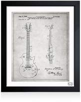 Oliver Gal Gibson Les Paul Guitar Wall Art, 15 x 18