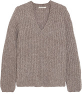 Mes Demoiselles Odeon Ribbed-knit Sweater - Taupe