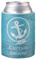 Aqua Captain Groom Cup Cozy