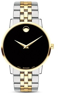 Movado Museum Classic Two-Tone Watch, 40mm