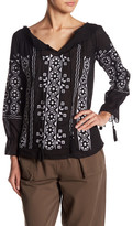 Romeo & Juliet Couture Embroidered Blouse