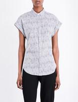 Rag & Bone Ara silk-cotton blend shirt