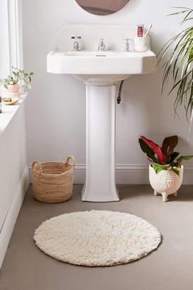 Urban Outfitters Joie Shag Round Bath Mat