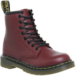 Dr. Martens Junior Lace Up Boots Inside Zip Delaney