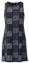Dorothy Perkins Womens Izabel London Multi Colour Check Print Shift Dress