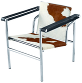 String Pony Cowhide Flat Chair