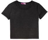 Aqua Girls' Diamond Pattern Knit Top - Sizes S-XL - 100% Exclusive