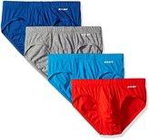 2xist Men's 4-Pack Essential Bikini Brief