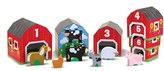 Melissa & Doug Toddler Nesting Barns & Animals Toy