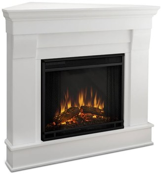 Pottery Barn Real Flame Chateau Corner Electric Fireplace