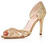 Kate Spade Idaya Glitter d'Orsay High Heel Pumps