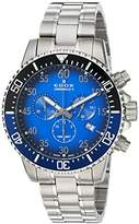 Edox Men's 'Chronorally-S' Quartz Stainless Steel Sport Watch, Color:Silver-Toned (Model: 10227 3NBUM BUBN)