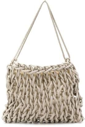 Alienina Sara woven shoulder bag