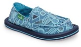 Sanuk Boy's Lil Donny Slip-On Sneaker