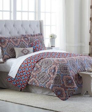 Jessica Sanders Decatur 6-Pc. Reversible King Quilt Set Bedding