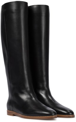 Gabriela Hearst Skye leather knee-high boots