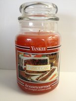 Yankee Candle Carrot Cake Retired 22 oz