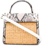 Nico Giani snakeskin-effect tote bag