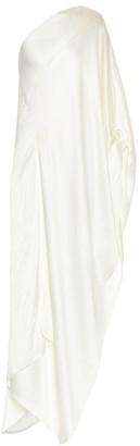 Roland Mouret Asymmetric silk-blend gown