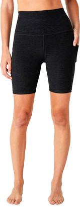 Beyond Yoga Space-Dye Team Pockets Biker Shorts