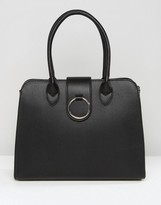 Asos Tote Bag With Ring Detail