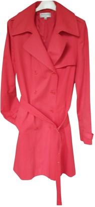 Paul & Joe Red Cotton Trench Coat for Women
