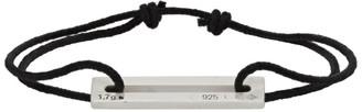 Le Gramme Black Le 1.7 Grammes Cord Bracelet
