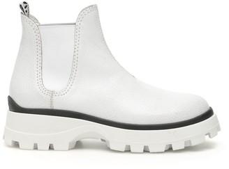 Miu Miu Elastic Ankle Boots