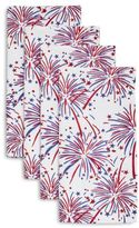 Sur La Table Fireworks Napkins, Set of 4