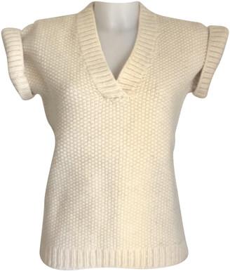 Sessun White Wool Knitwear