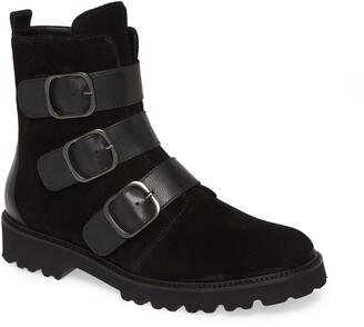 Gabor Buckle Combat Boot