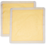 Garnier Thiebaut Soubise Jaune D Or Cushion Covers (Set of 2)