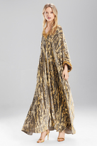 Josie Natori Couture Golden Age Cocoon Caftan