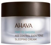 Ahava 'Time To Smooth' Age Control Even Tone Sleeping Cream