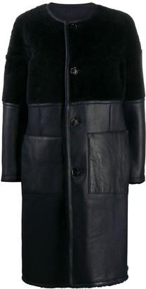 Marni Panelled Mid-Length Coat